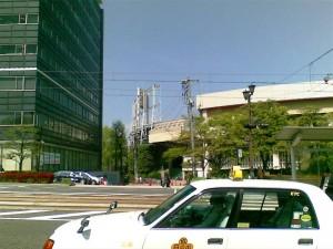 取り壊し中の旧市民球場
