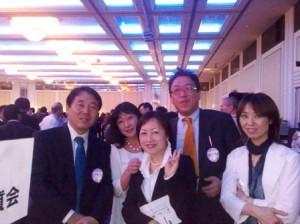 高校の同級生(福岡での同窓会にて)左は国交省の中島氏