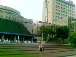 西日本で一番大きい女子大(素敵なキャンパス)