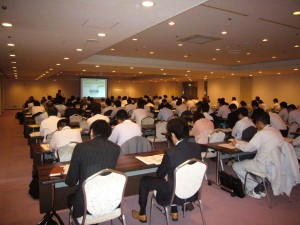 (なんと会場が満員に)温暖化対策セミナー