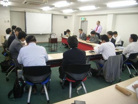参加者が増えてきた環境ビジネス研究会