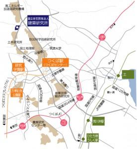 建築研究所map