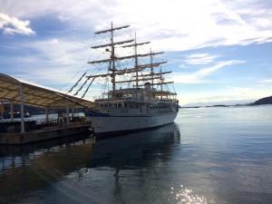 日本丸の老後は観光船です