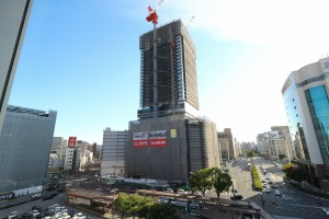 広島駅前のタワーマンション