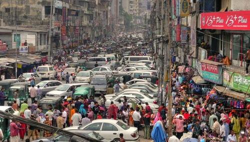 都市の交通渋滞
