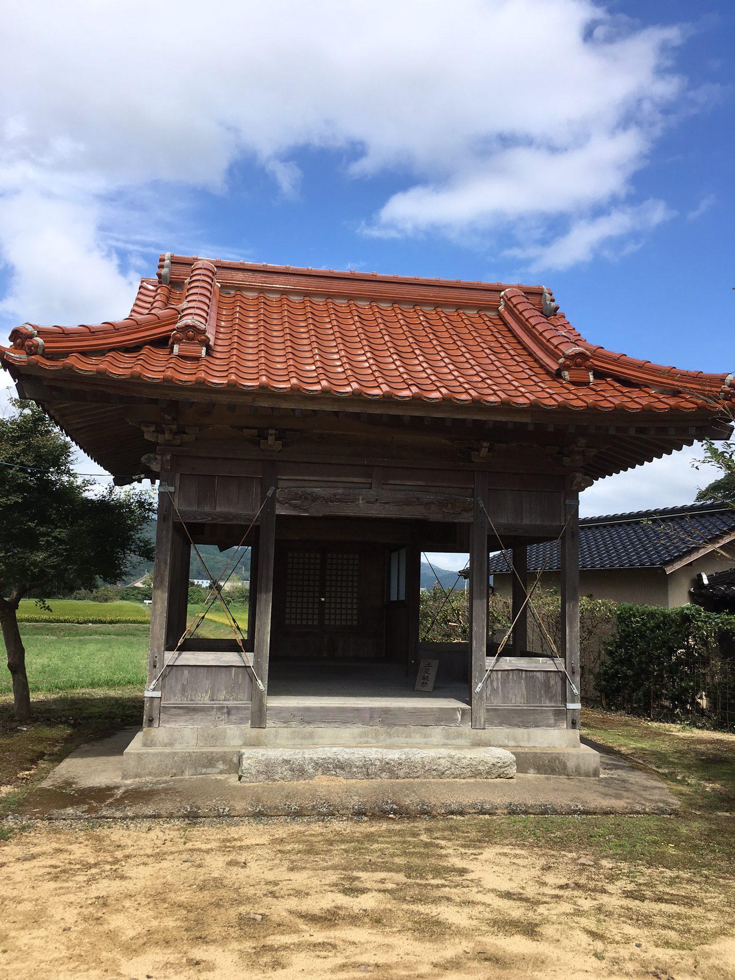 道中、神社の探検もしました